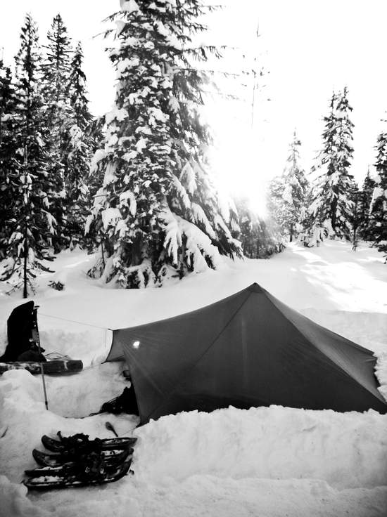 Winter backpacking trip