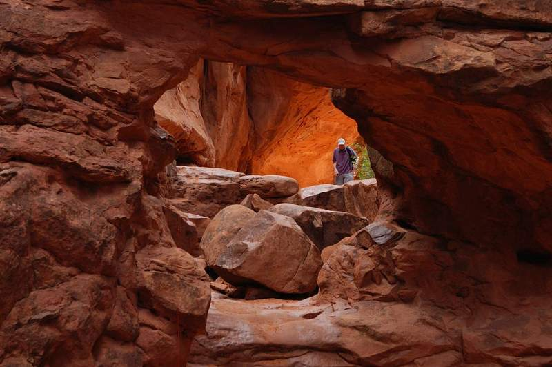 Fiery Furnace GUIA PARA VISITAR ARCHES PARK