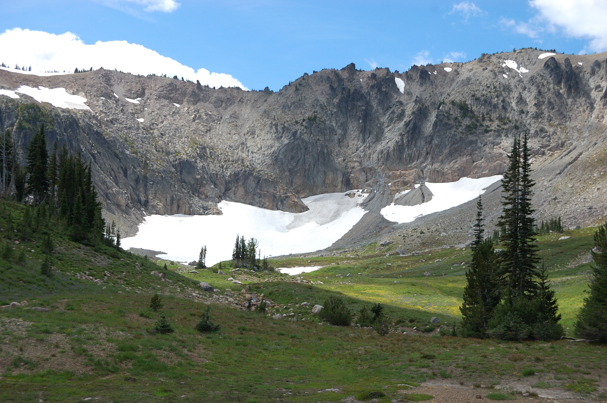 Gilbert Peak, Warm Lake (Goat Rocks east) 8 23-26 14