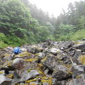 Using boulder field to find ROA