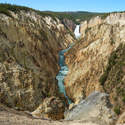 Grand Canyon of the Yellowstone. Its color gave the name to Yellowstone River, and from it - to the park itself