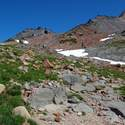 The place gets more alpine towards PCT High Point