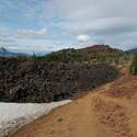 Going near lava fields
