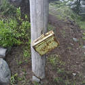Did someone forget their lunchbox on top of Indian Mountain? (I know, it's the register).